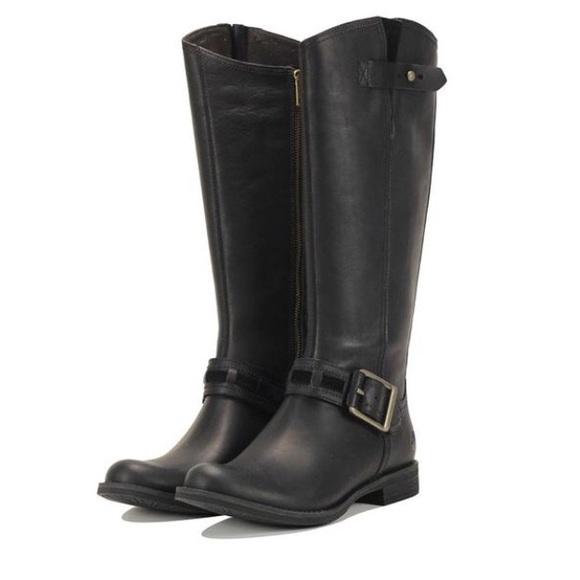Timberland Savin Hill Tall Black Boots 8549R